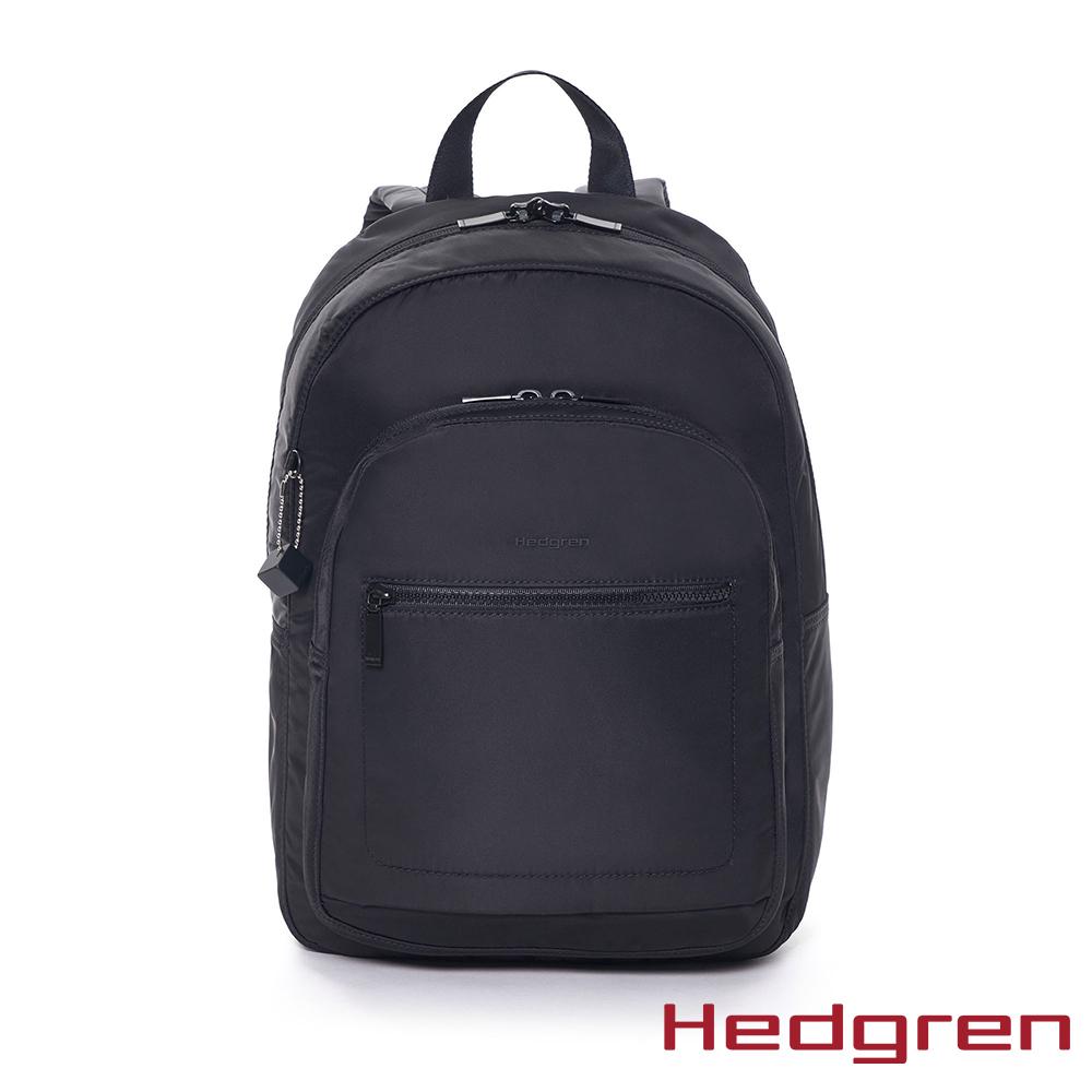 【Hedgren】墨黑休閒後背包 - HITC03