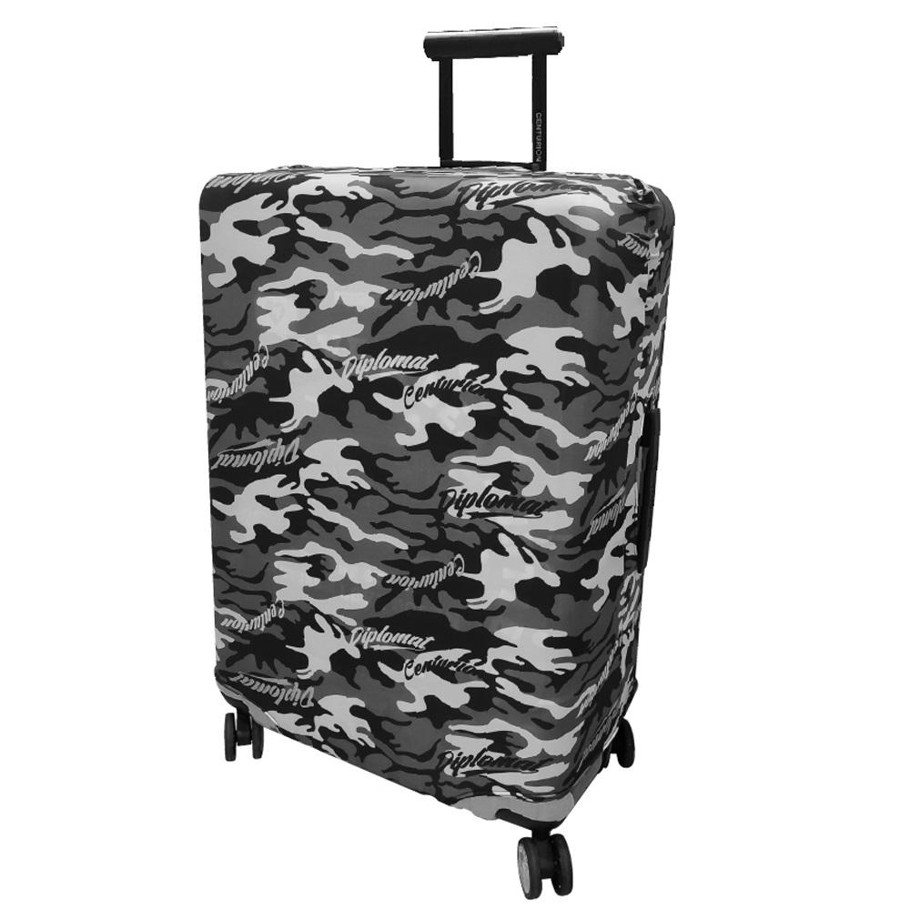 【CENTURION 百夫長】CS0003黑迷彩 L號26-29吋彈力行李箱保護套