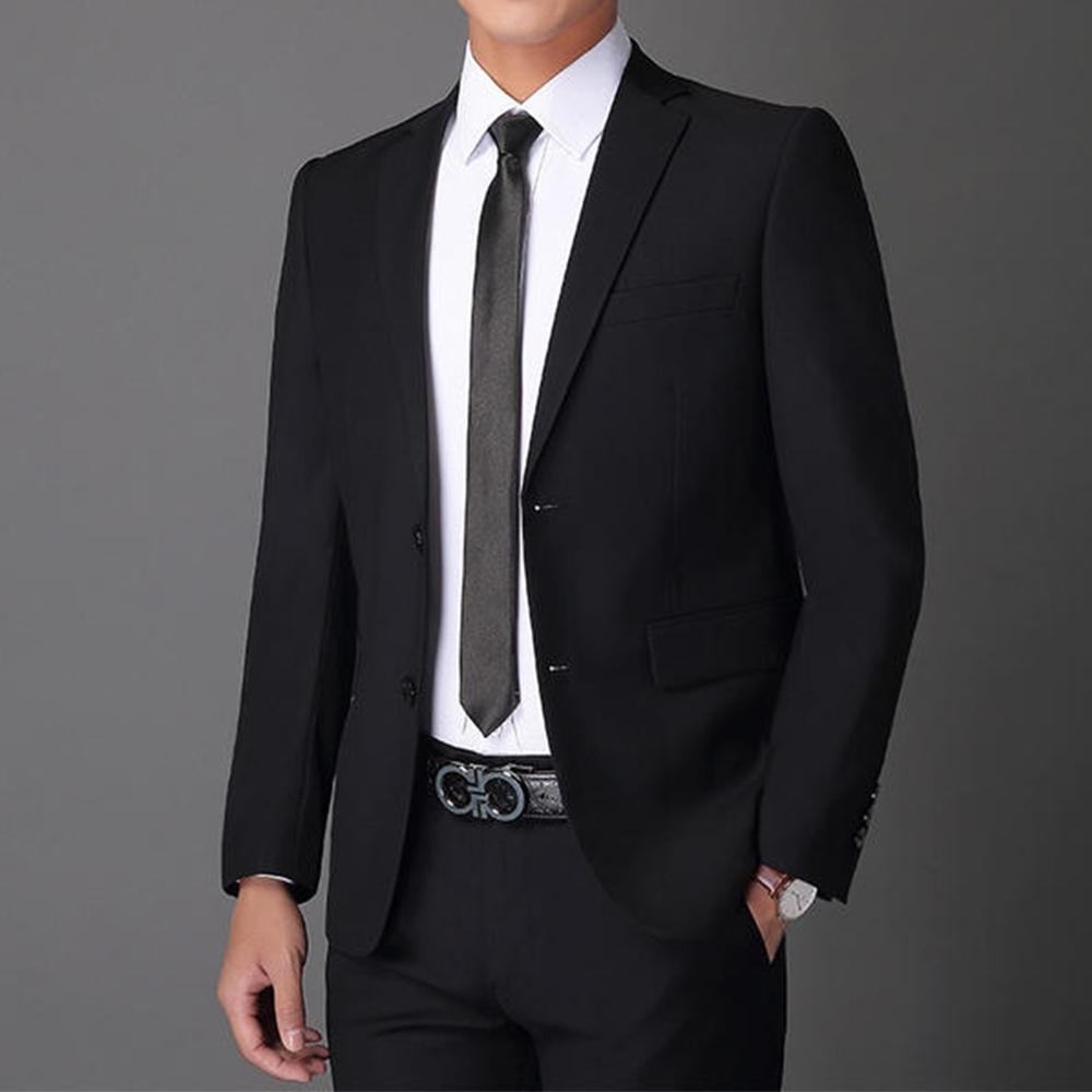 【YUANHO】韓版修身合身西裝外套