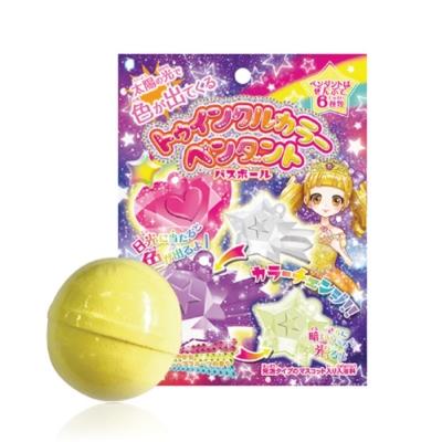 日本NOL-閃亮變色吊飾入浴球6入(附可愛公仔/聖誕禮物/交換禮物)