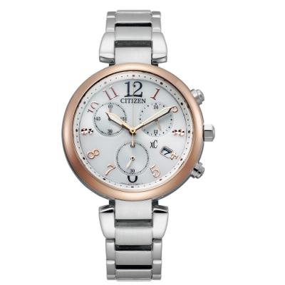 CITIZEN XC優雅光芒廣告款光動能腕錶FB1454-52A