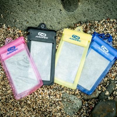 AROPEC 吊掛式手機防水袋.可觸控防水手機套 通用手機防水包 透明防水保護套