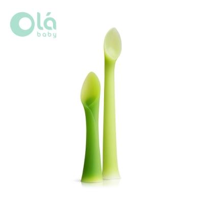 美國 Olababy 小幼苗親子湯匙組
