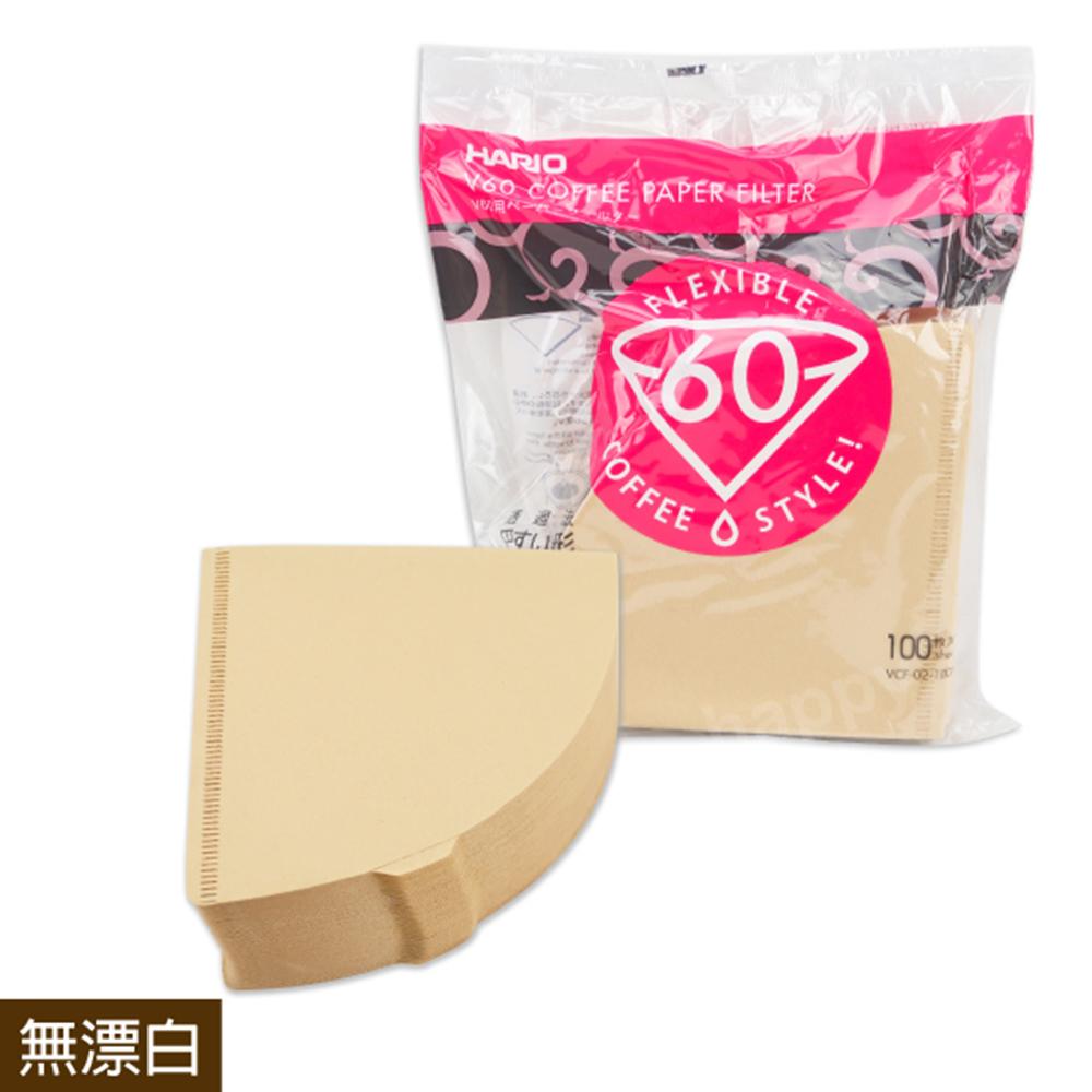 HARIO錐型咖啡濾紙無漂白1-4人份100枚(4包組)