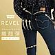 Levis 女款 Revel 中腰緊身提臀牛仔褲 Lyocel天絲棉 黑藍 product thumbnail 2
