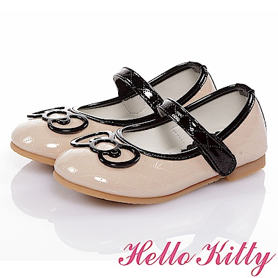 HelloKitty童鞋 高級手工超纖皮輕量減壓娃娃鞋-米