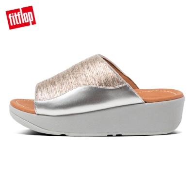 FitFlop MYLA GLITZ SLIDES涼鞋-女(銀色)