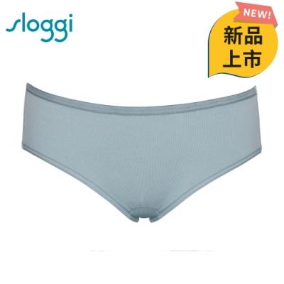 sloggi everyday有機過生活系列平口內褲 M-EL 海藍泡泡 87-819 SW
