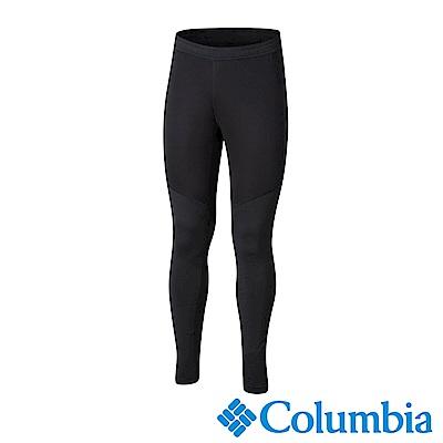 Columbia 哥倫比亞 男款-野跑Omni-Wick 防風快排運動長褲-黑色