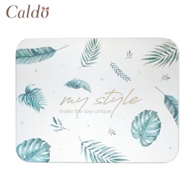 【Caldo卡朵生活】熱帶微叢林珪藻土吸水地墊