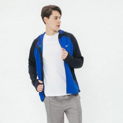 Hang Ten - 男裝 - ThermoContro-撞色輕量機能外套 - 藍