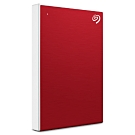 Seagate Backup Plus Slim 2.5吋 1TB 行動硬碟(櫻桃紅)