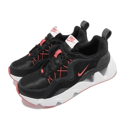 Nike 休閒鞋 RYZ 365 運動 女鞋 海外限定 厚底 增高 明星款 孫芸芸 黑 紅 BQ4153-005