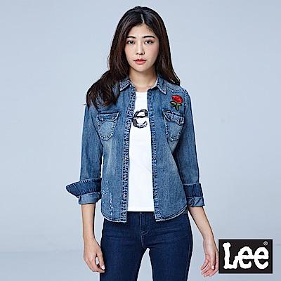 Lee 牛仔長袖襯衫/VL