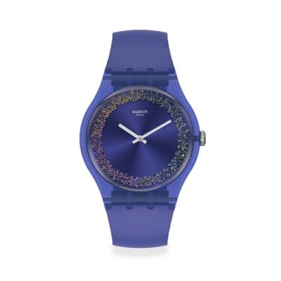 Swatch 菁華系列手錶 PURPLE RINGS 繽紛紫-41mm