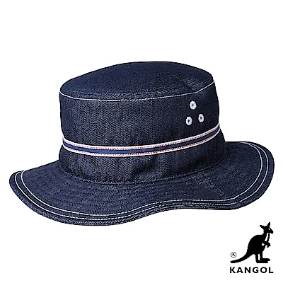 KANGOL漁夫帽-牛仔藍色