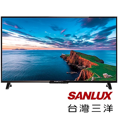 SANLUX三洋  40 型 LED背光 液晶顯示器+視訊盒 SMT- 40 MA 3