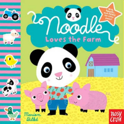 Noodle Loves The Farm:Noodle 的農場探險觸摸書(美國版)