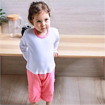 baby童衣 簡約假兩件長袖素面連身衣 82056