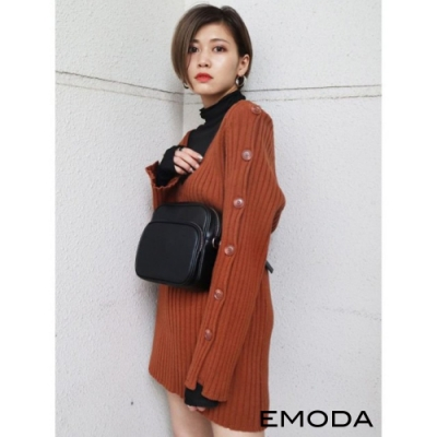 EMODA 兩袖開襟鈕釦針織上衣(4色)