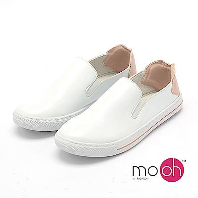 mo.oh --拚色休閒舒適套腳小白鞋