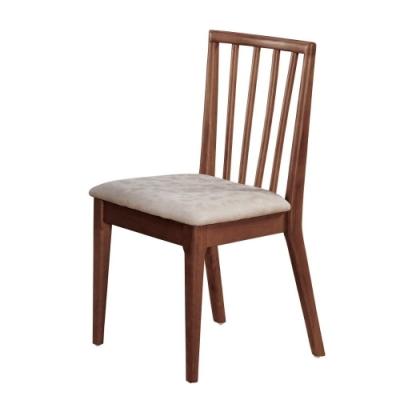 MUNA 曼奇尼實木皮餐椅/休閒椅 44X48X88cm