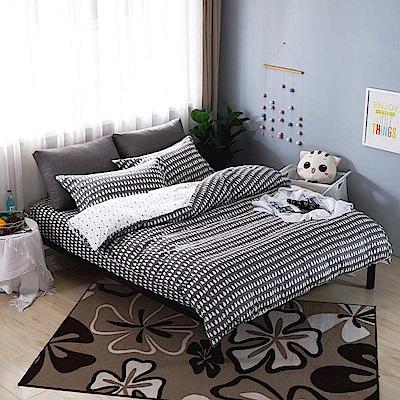 夢工場 巴布亞迪60支紗埃及棉床包兩用被組-加大