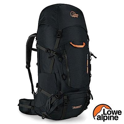 英國 LOWE ALPINE Cerro Torre 65:85 輕量透氣健行登山背包_黑