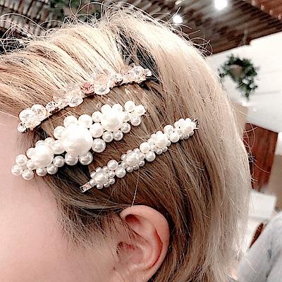 梨花HANA  歐美T台大熱珍珠超模髮夾