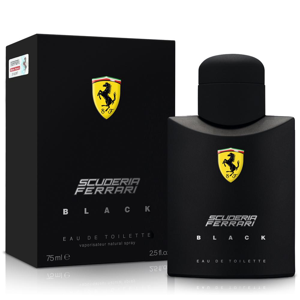 Ferrari法拉利 黑色法拉利男性香水75ml