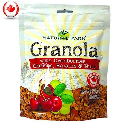 NATURAL PARK 格蘭諾拉麥片-蔓越莓&櫻桃口味(170g)