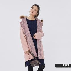 【KiKi】冬季指名購買毛呢連帽-大衣/外套(三色)