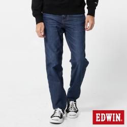 EDWIN 迦績褲JERSEYS織帶AB褲-男-酵洗藍