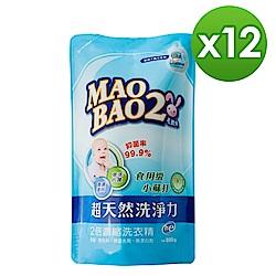 毛寶兔超天然小蘇打植物洗衣精800g(補)x12入/箱