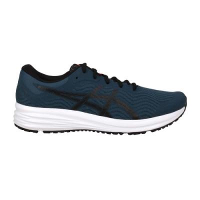 ASICS PATRIOT 12 男慢跑鞋-路跑 輕量 運動 亞瑟士 1011A823-401 藍綠黑
