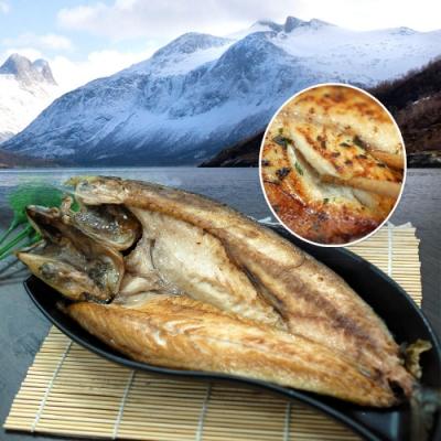 築地一番鮮-【買1送1】挪威當季鯖魚一夜干5尾(加贈5尾共10尾)