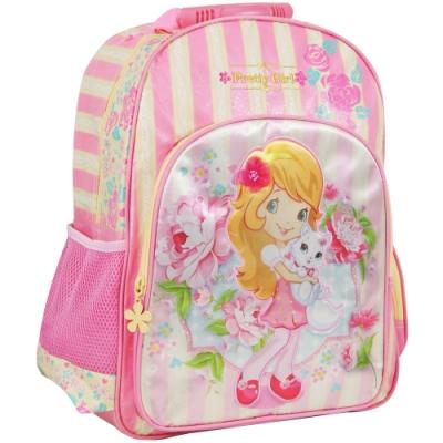 【MAXPERO】玫瑰甜心17.5吋 後背書包 / 兒童背包 / 後背包