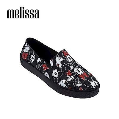 Melissa X Mickey 周年限定特別款懶人鞋-黑色