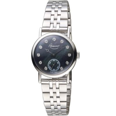 玫瑰錶Rosemont璀璨復刻手錶(BR-01-Bk-mt)-黑