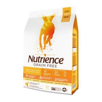 加拿大Nutrience紐崔斯GRAIN FREE無穀養生犬-火雞肉+雞肉+鯡魚(放養火雞&漢方草本) 5kg(11lbs) (NT-F6172)