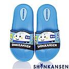 (雙11)新幹線 極輕量室內外休閒拖鞋童鞋-藍