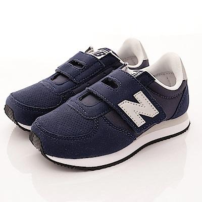 零碼-17.5 NewBalance童鞋 220後穩定機能鞋款NSY藍
