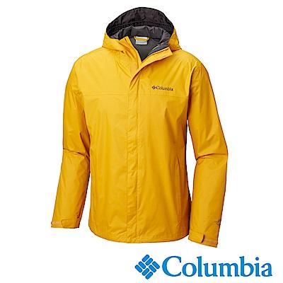 Columbia哥倫比亞 男款-Omni-Tech防水外套-黃色URE24330YL