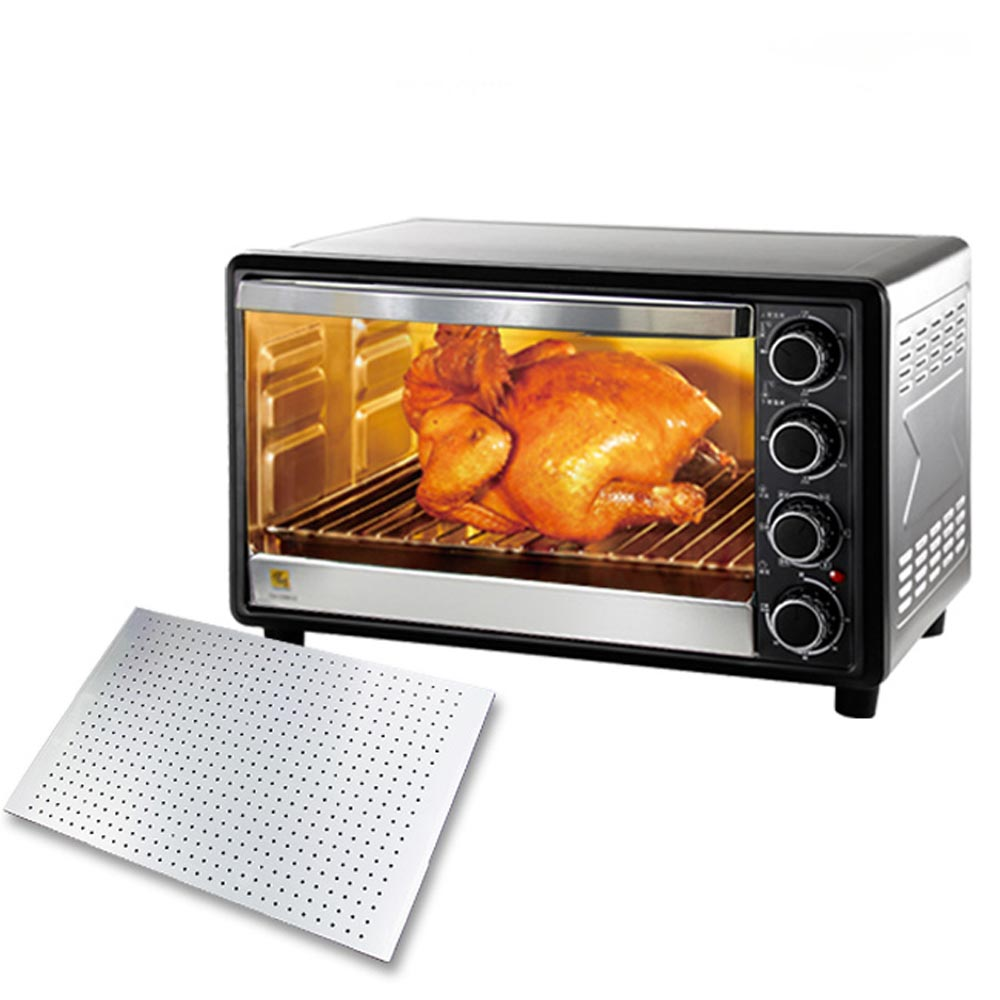 鍋寶 鋁合金烤盤 33L雙溫控不鏽鋼大烤箱(OV-3300-D)全配組