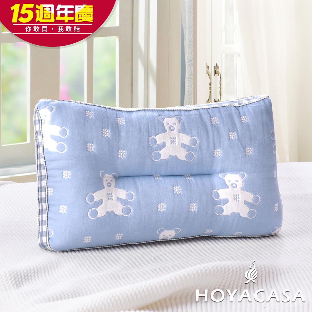 HOYACASA超柔純棉紗布Q棉枕-買一送一 多款任選