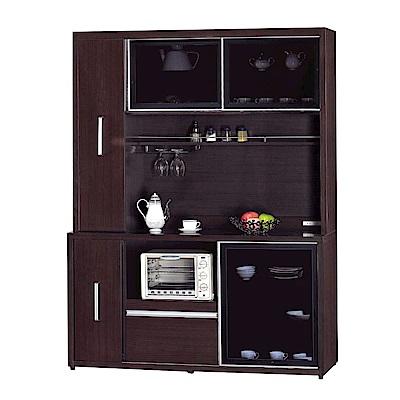 品家居 薇多恩5.1尺餐櫃組合(二色可選)-151.5x52x200cm免組