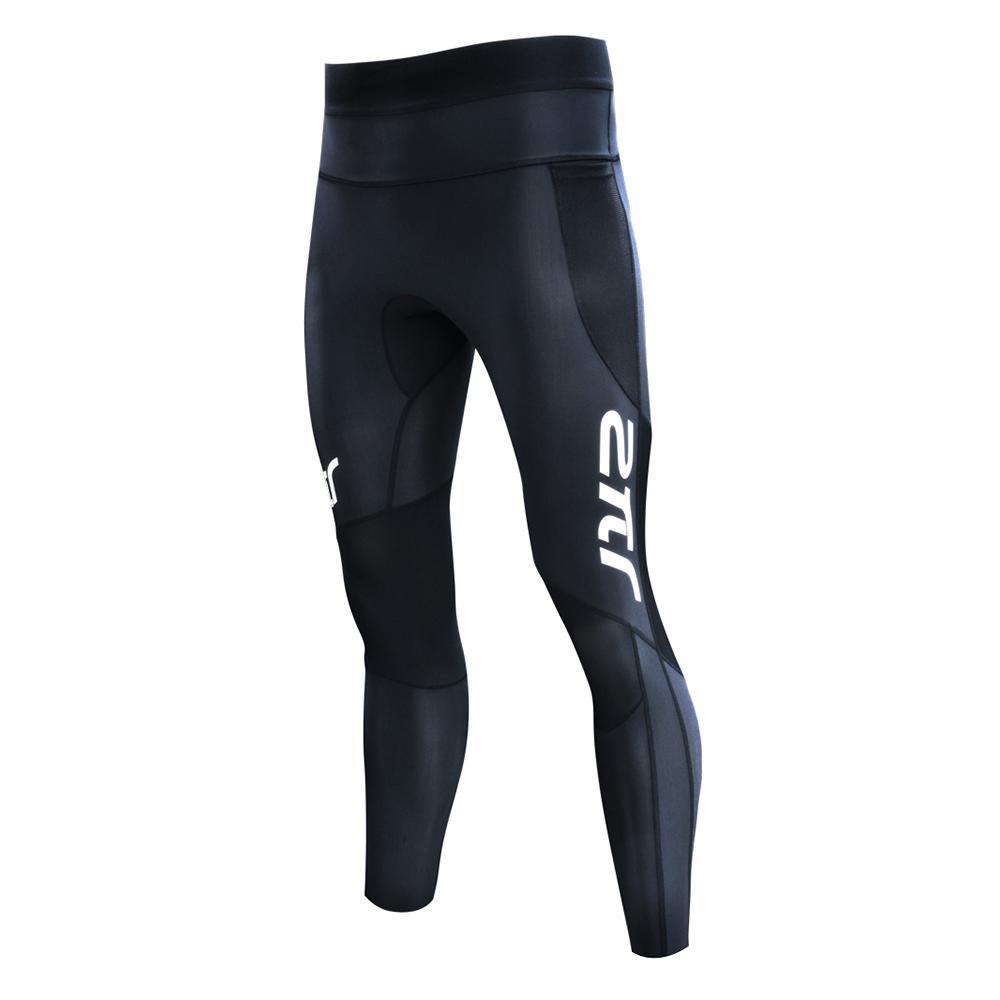 【2PIR】男款3D立體支撐壓力褲 皓月白