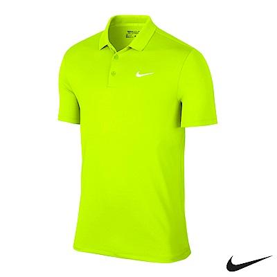 Nike Golf 素面運動休閒POLO衫 螢光黃 749333-702