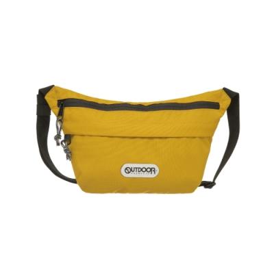 【OUTDOOR】二用側背包-芥末黃 OD191106MD