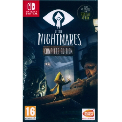 小小夢魘 完整版 Little Nightmares Complete Edition - NS Switch 中英日文歐版